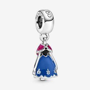 Disney Frozen Anna's Blue Dress Dangle Charm